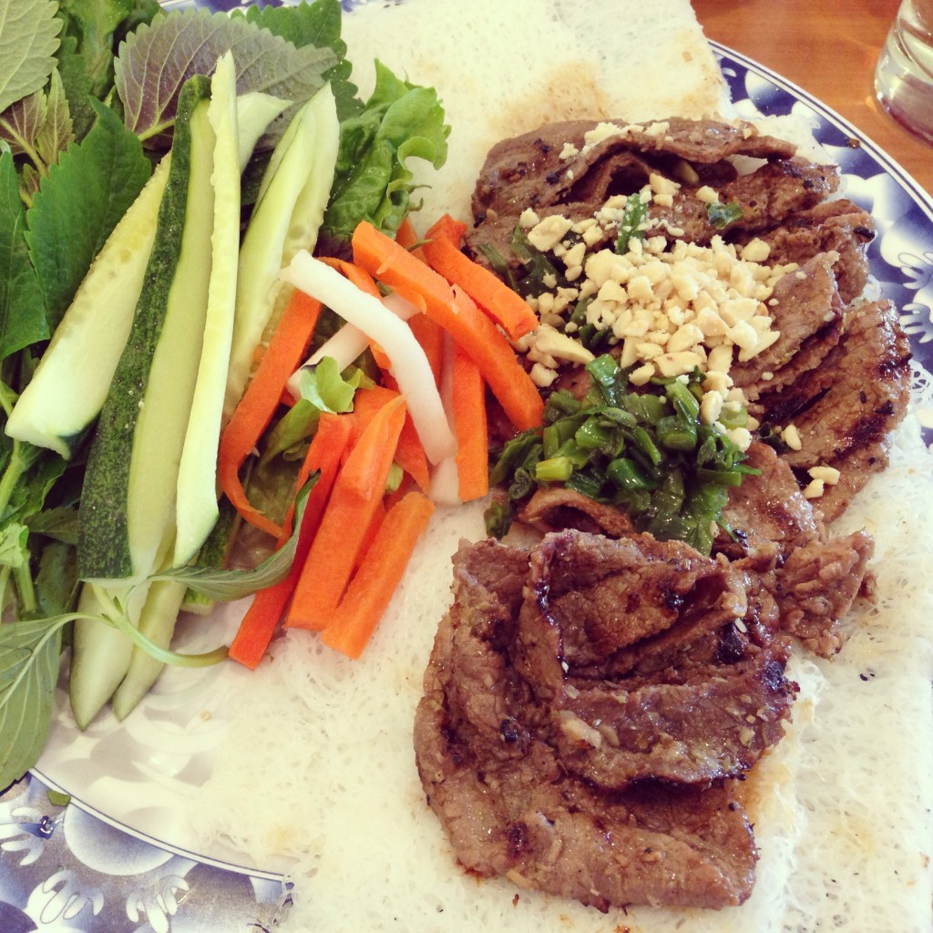 Grilled Beef and Veggies