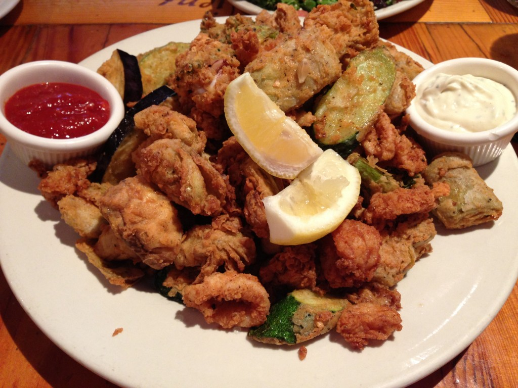 Fritto Misto for 2!...er or 5 normal people?