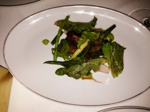 Magical Veggies served with Course #6 - Beef Short Rib