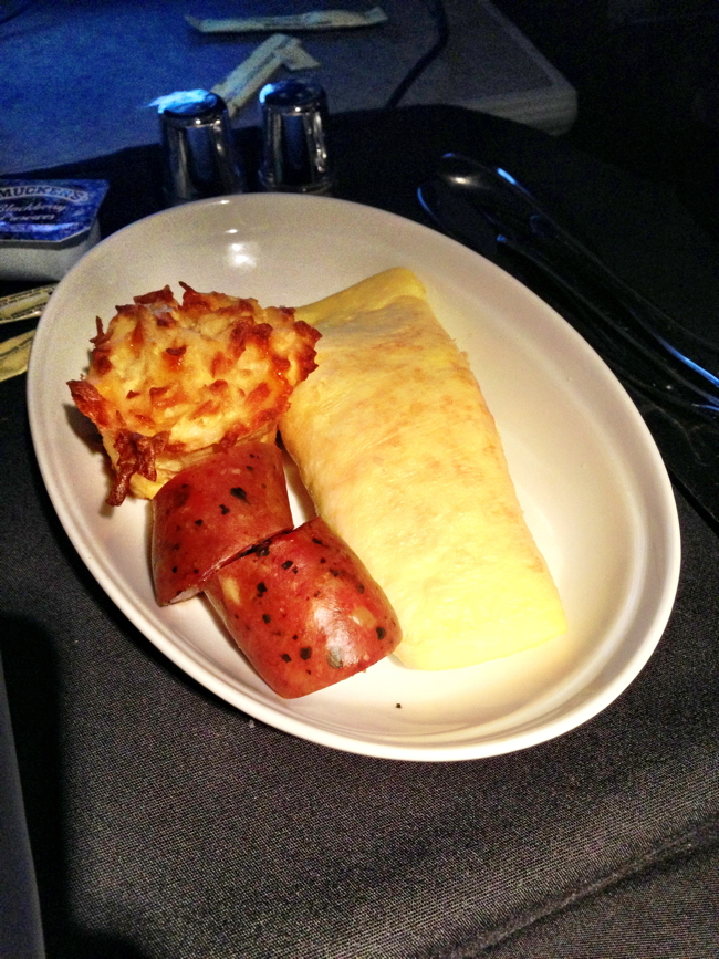AA130 ORD to HEL: 9 Breakfast 2